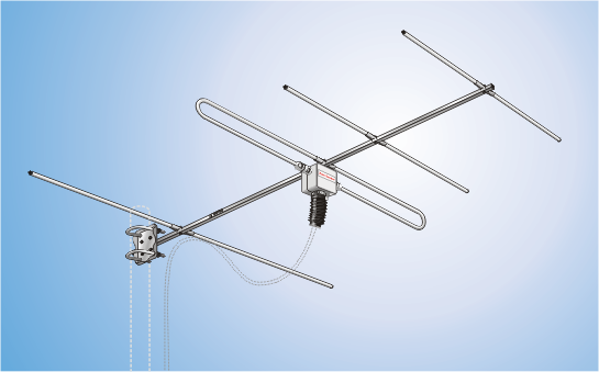 SYA 1-1-2 UKW, Yagi Antenna for B II