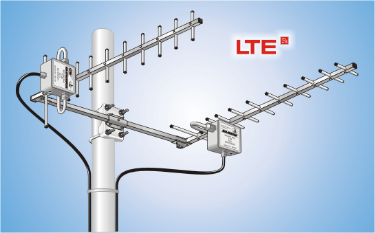 AS 2x SYA 411 B LTE, Antennen-System LTE/LTE-MIMO (UHF)