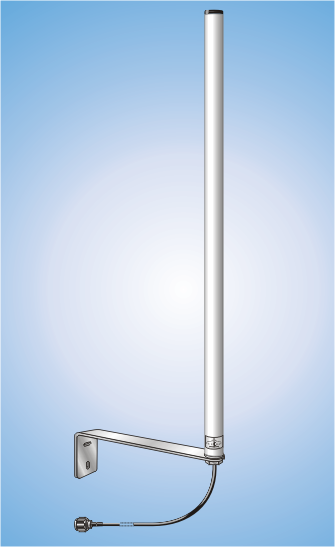 STS 170/400; 2m/TETRA, Dual-Band Omnidirectional Antenna