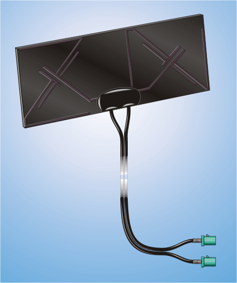 SKA LTE MIMO, Special Adhesive Antenna
