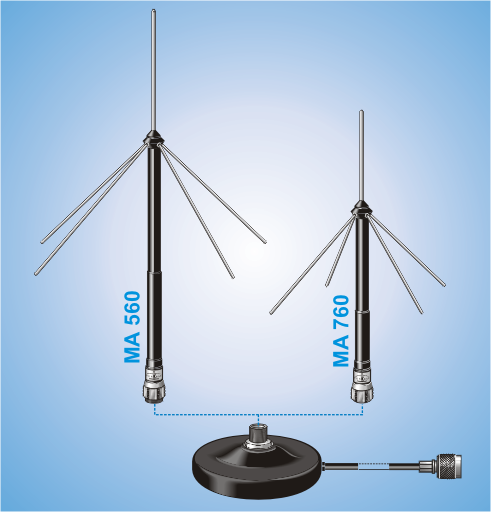 MA 560-760 UHF, Measuring Antenna System for UHF